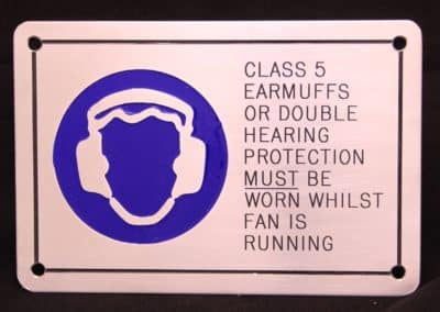 Engraving Mackay - PPE plaque