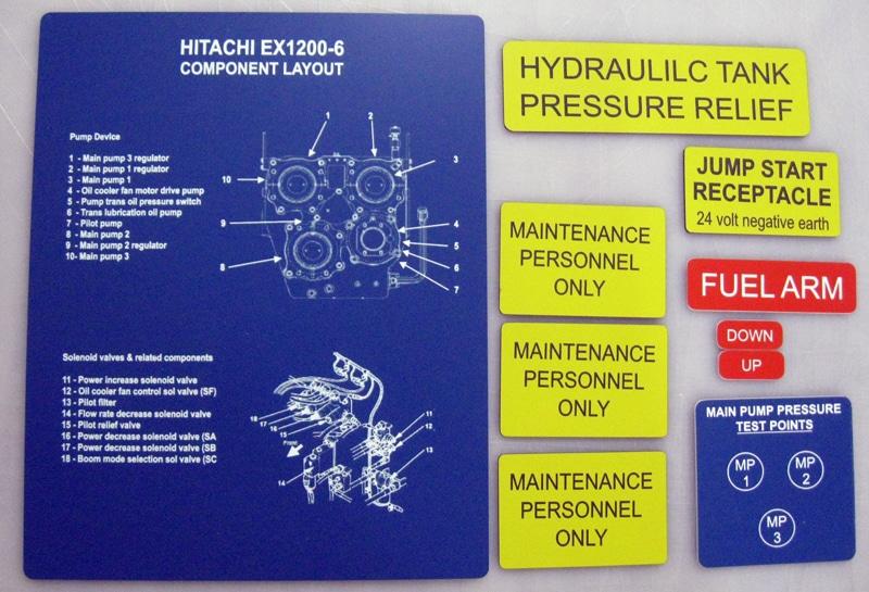 Engraving Mackay Hydraulic